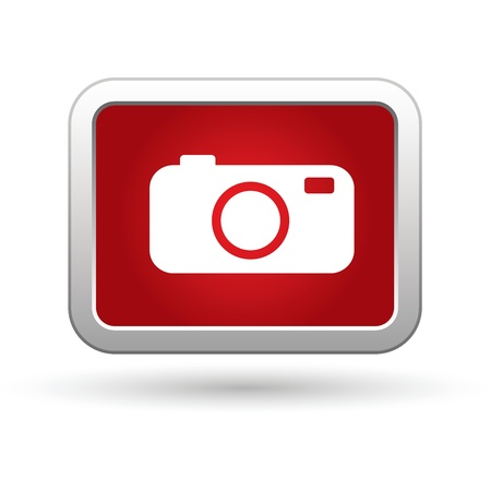 photography icons: Camera Icon. Vector