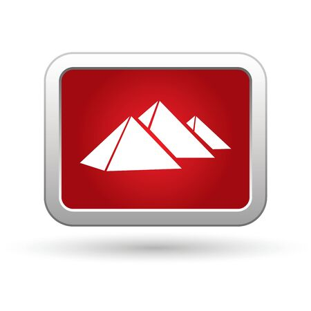 Pyramids icon  Vector Stock Vector - 16023589
