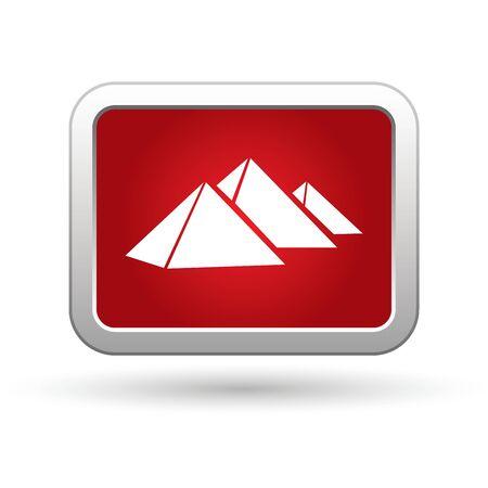 Pyramids icon  Vector Stock Vector - 16023589