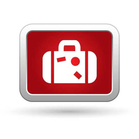 Suitcase  Vector icon  Vector