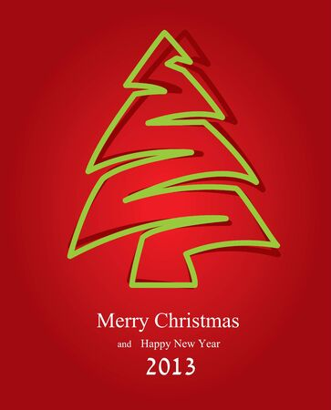 Abstract background for new year and for Christmas  Vector illustration Vector