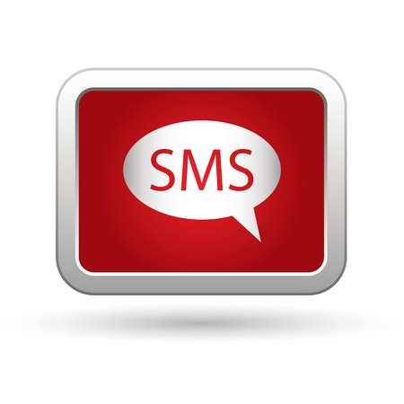 oft: SMS icon  Vector illustration
