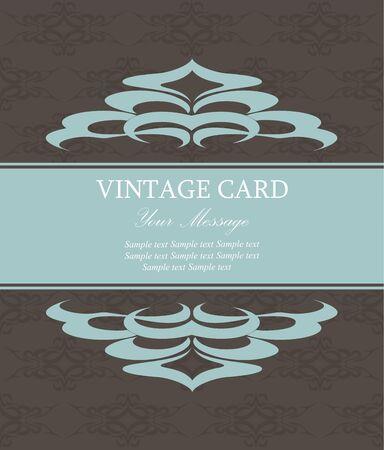 Vintage card  Vector illustration Stock Vector - 16710020