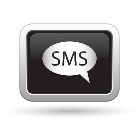 SMS icon  Vector illustration Stock Vector - 16709955