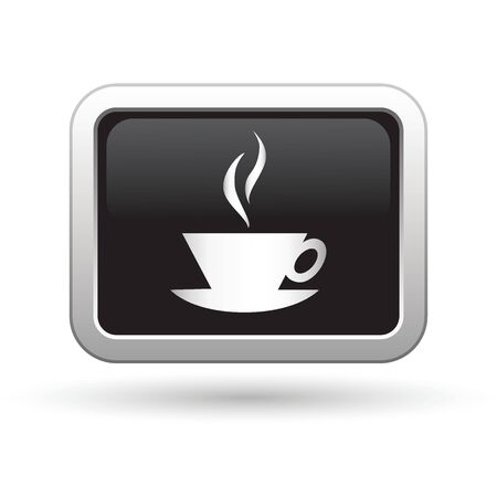 internet cafe: Cup icon  Vector illustration