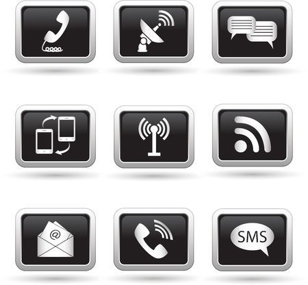communication icons: Communication icons  Vector illustration
