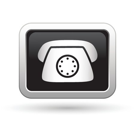 Telephone icon  Vector illustration Vector