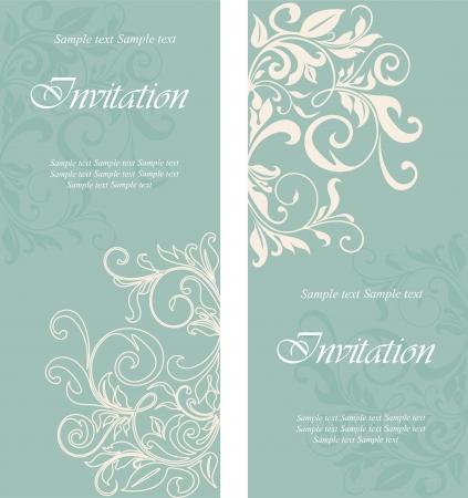 invitaci�n a fiesta: Hermosas tarjetas de invitaci�n florales