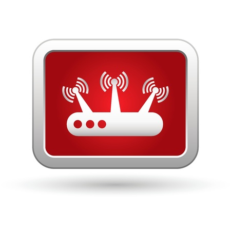 oftware: Router icon  Vector illustration