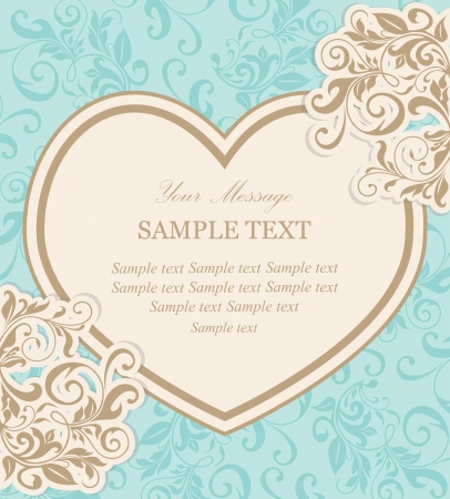 engagement party: Beautiful floral vector background  Illustration