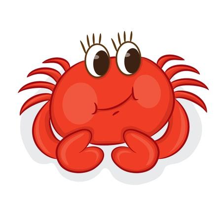 cartoon crab vector illustration royalty free cliparts vectors and rh 123rf com crab vector clipart crab vector graphic free