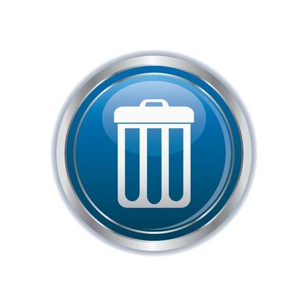 delete: Trash can icon