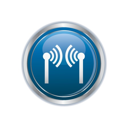Wireless icon Stock Vector - 19984887