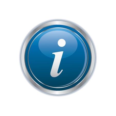 information symbol: Information icon Illustration