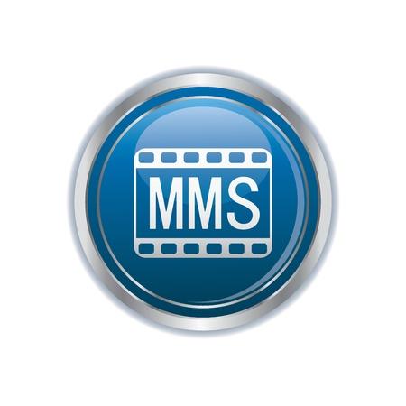 mms: mms icon  Illustration