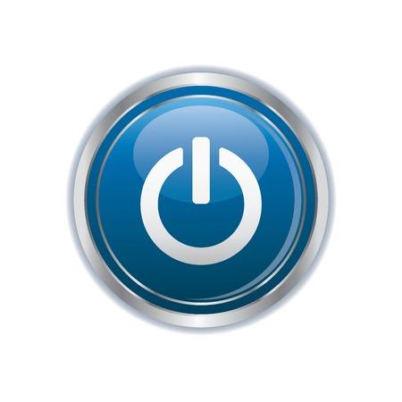 Power icon Stock Vector - 19984883