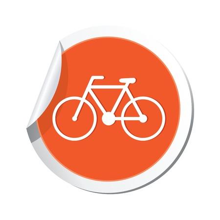 Bicycle icon  Vector illustration Vector