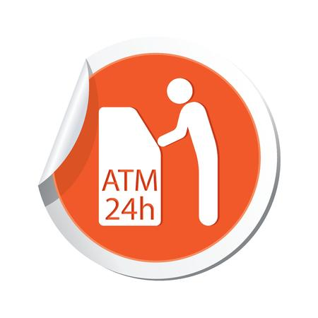 ATM cashpoint icon  Vector illustration Vector