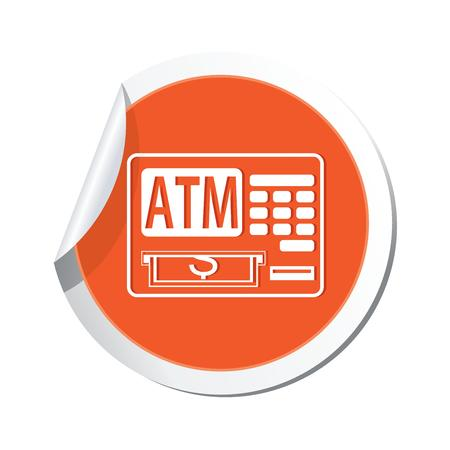 cashpoint: ATM cashpoint icon  Vector illustration Illustration