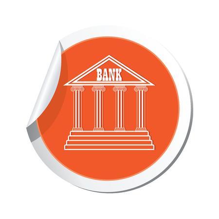 Bank icon  Vector illustration Vector