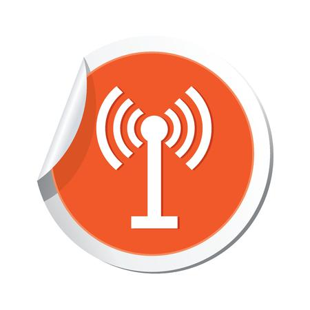 oftware: Icon with Wifi sign