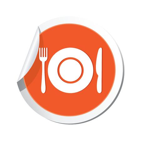 Restaurant icon  Vector illustration Vector
