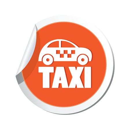 Taxi icon  Vector illustration Vector
