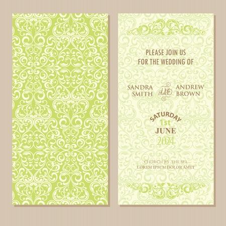 Hochzeit Einladung Gesetzt Dankeschön-Karte, Save The Date-Karte ...