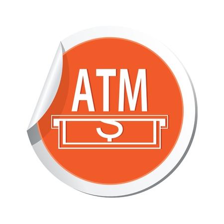 cashpoint: ATM cashpoint icon. Vector illustration