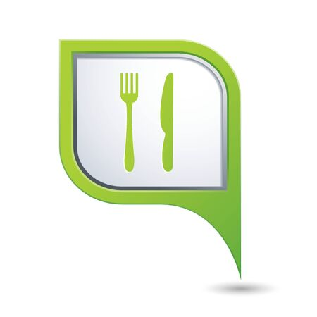 Restaurant icon. Vector illustration Vector