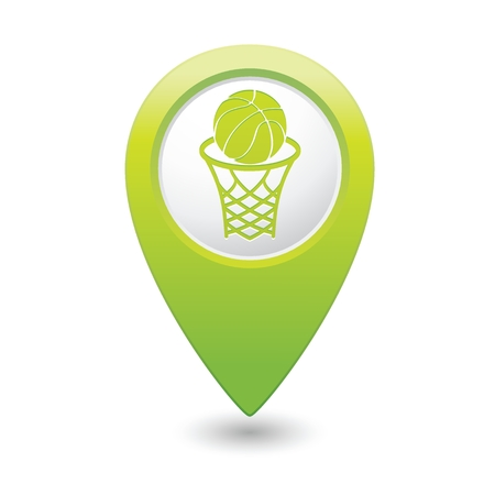 vectorrn: Basketball icon.