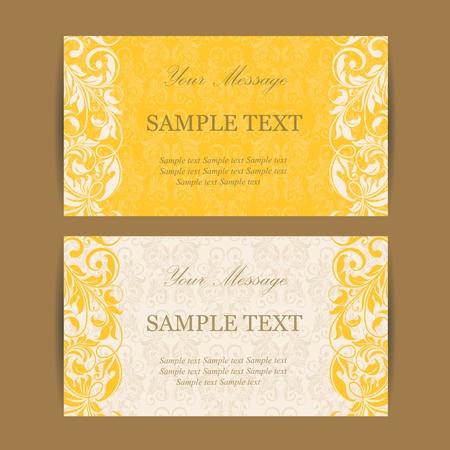 caes: tarjeta de invitación vendimia Vectores