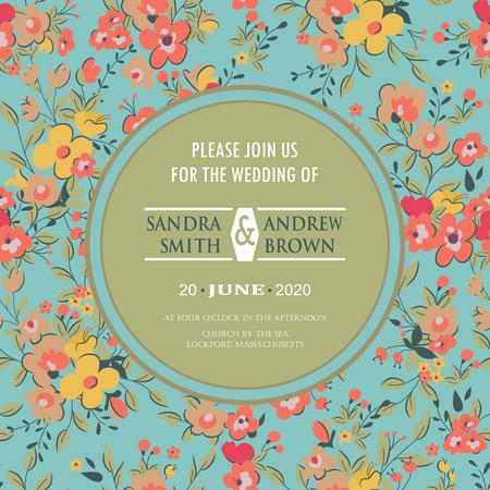 結婚式の招待状やお知らせ。グリーティング カード、誕生日カードやパーティとして使用することができます招待状。