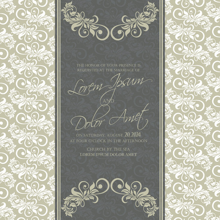 Wedding invitation and save the date cards. Also can be used as greeting cards, birthday cards or party invitations