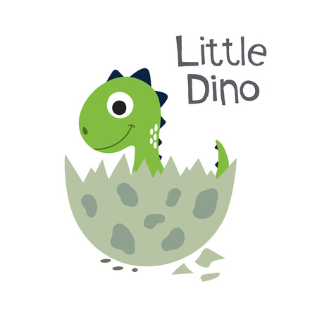Little dinosaur.