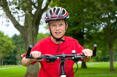boy on bicycle  Stock Photo - 23697790