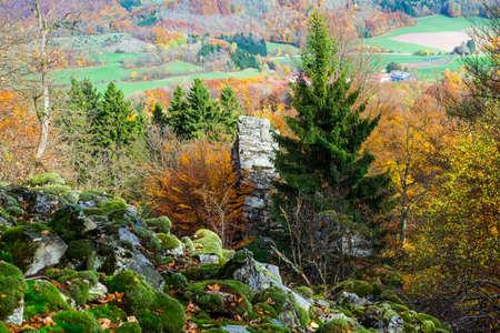 hn: autumn-landscape Röhn Germany