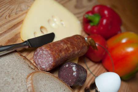 hearty: Hearty breakfast Stock Photo