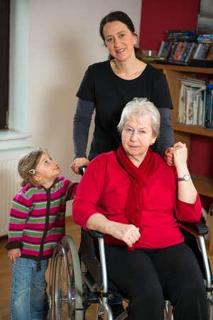agradecimiento: tres generaciones
