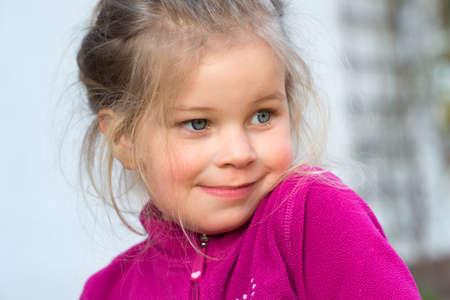 bonny: Little girl smiling