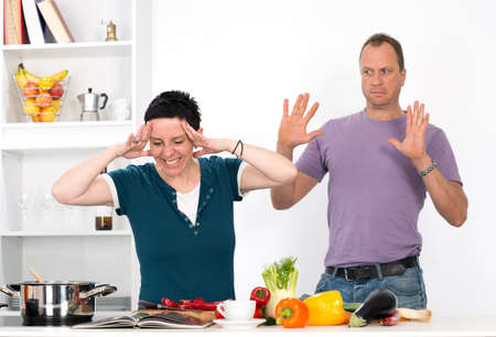 angry vegetable: stress in the kitchen