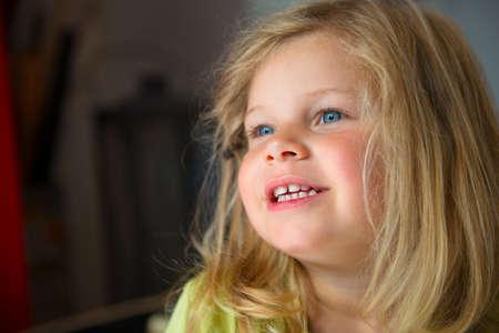bonny: smiling little girl Stock Photo