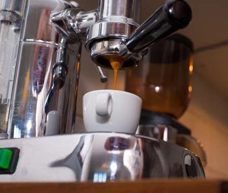 Espressomachine Stockfoto - 34535601