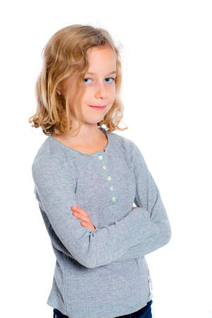 bonny: nice girl with blond hair Stock Photo