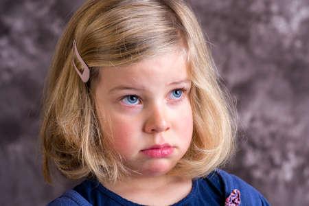 littlegirl is in bad mood and crying