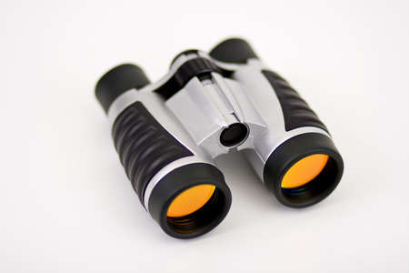 Binoculars wOrange Lenses Top View