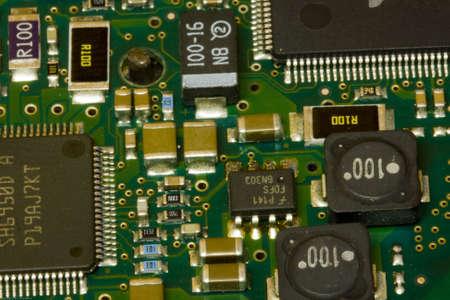 Computer Circuit Board Фото со стока