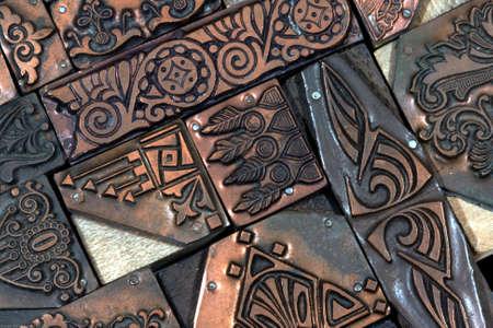 Decorative Copper Blocks