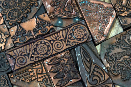 Decorative Copper Blocks