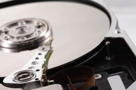 harddisc: Detail photo of a hard drive